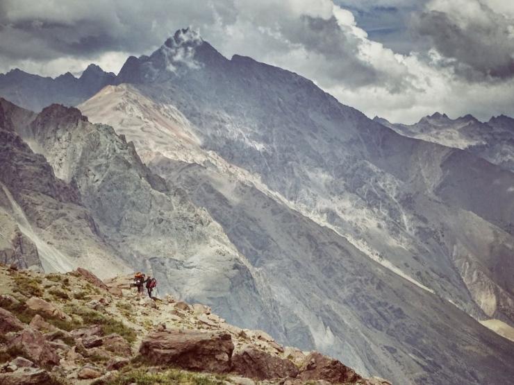 trekking en santiago