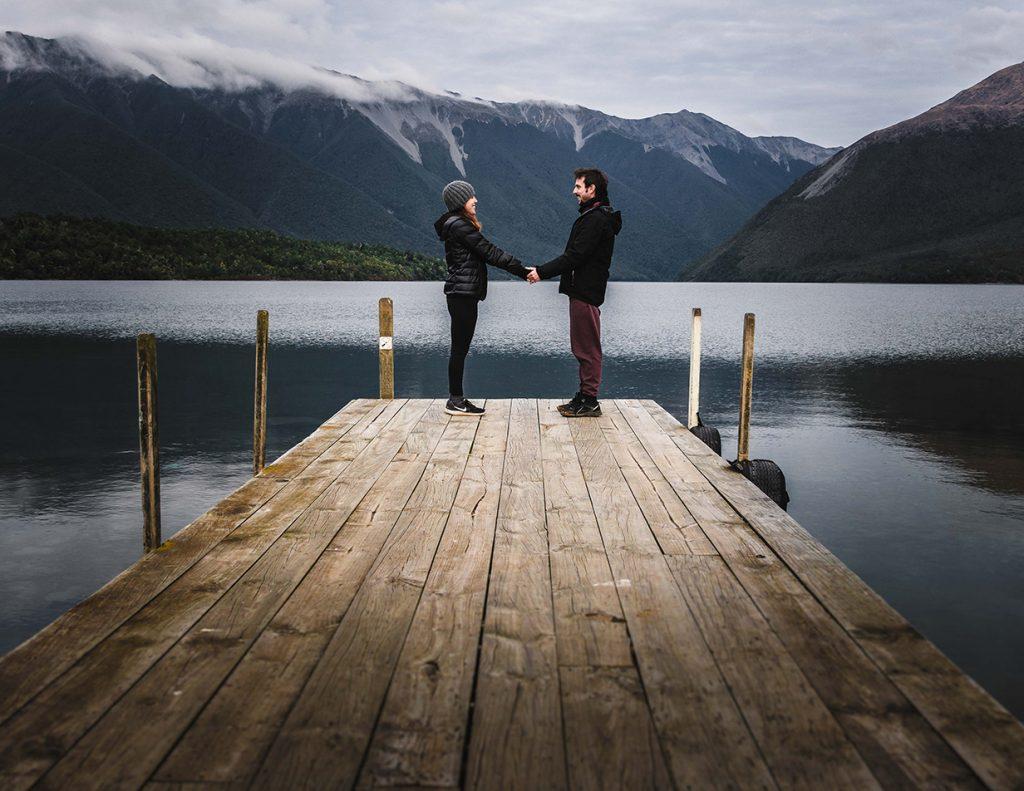 carla y edu en nelson lakes nueva zelanda