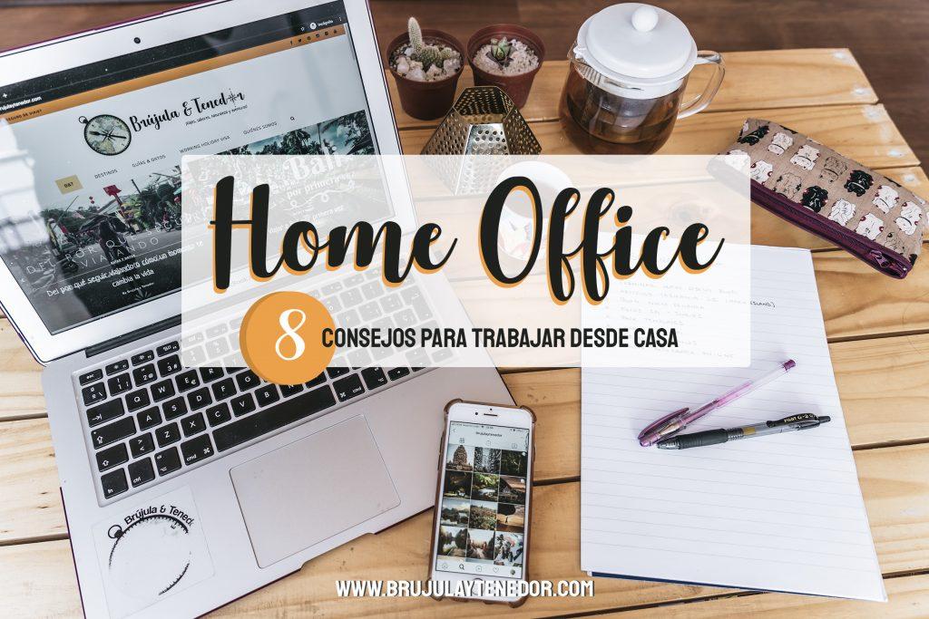 Home office como trabajar desde casa