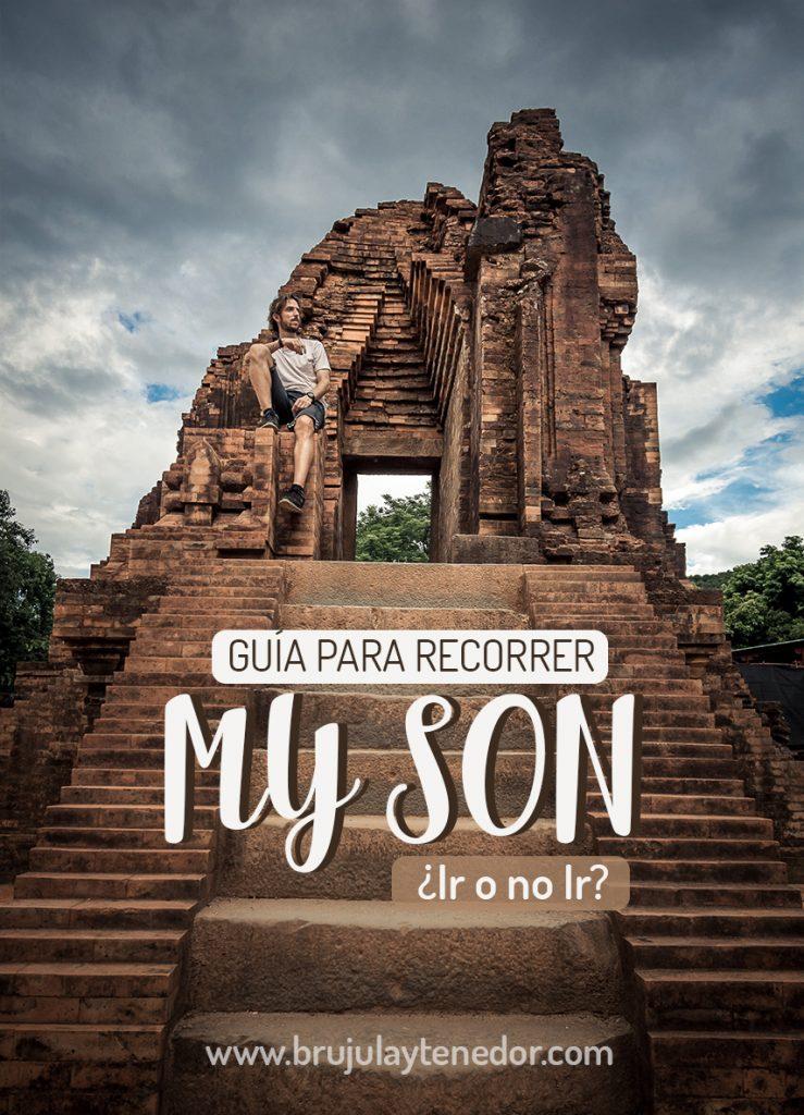 guia para recorrer el santuario my son en vietnam