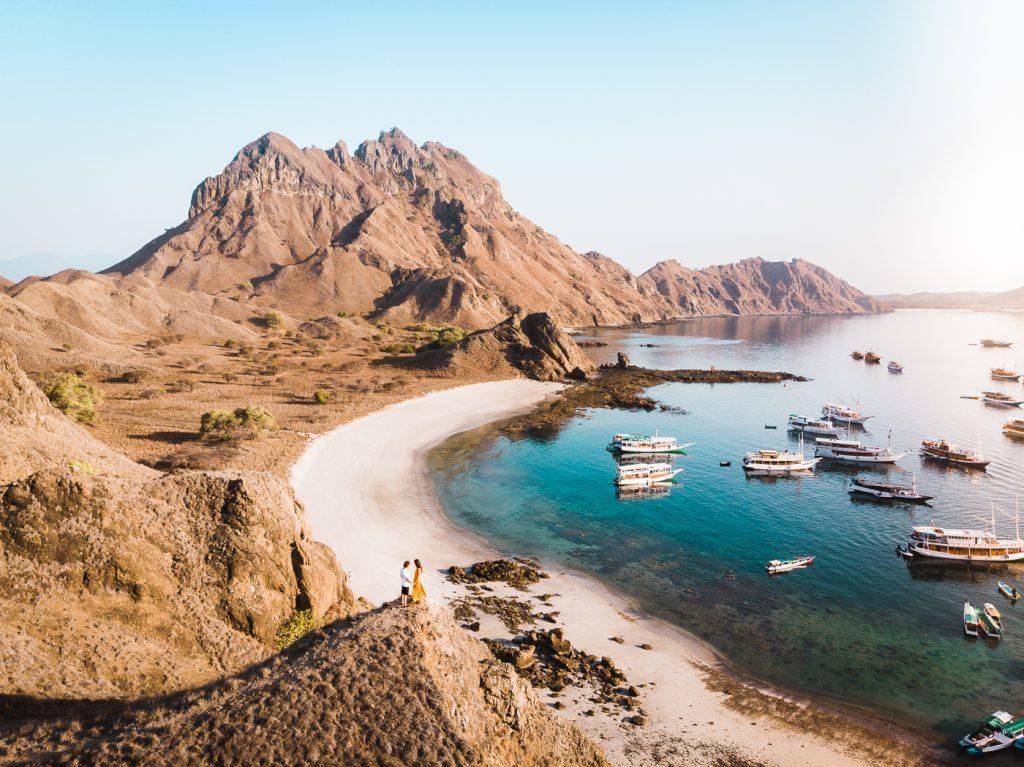 komodo rinca island en itinerario por Indonesia