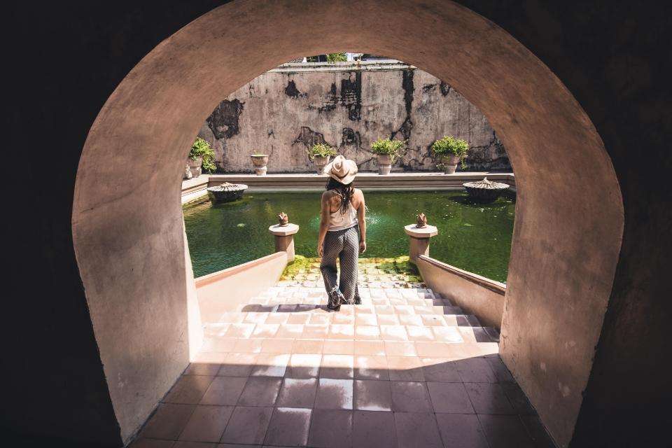 jardines reales en casco historico de yogyakarta