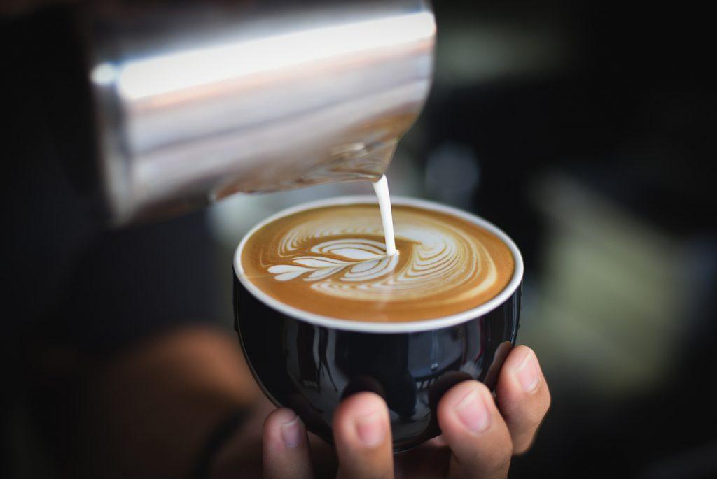 Cafe en Melbourne Duke.