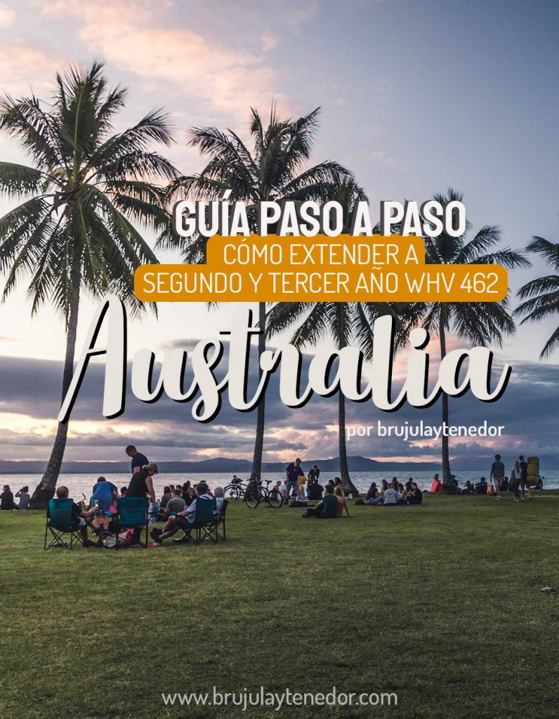 guia para segundo año working holiday australia