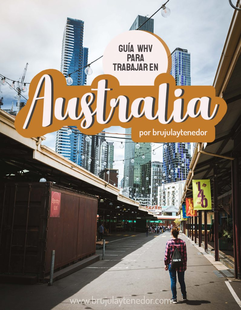guia para trabajar en Australia